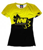 Женская футболка 3D Navi Dota2