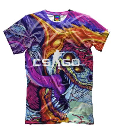 Мужская футболка 3D CS GO