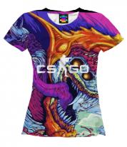 Женская футболка 3D CS GO