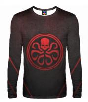 Мужская футболка с длинным рукавом 3D Hydra