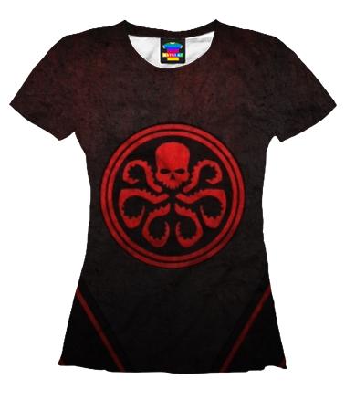 Женская футболка 3D Ривердэйл