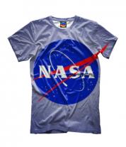 Детская футболка 3D Nasa logo