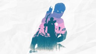Мужская футболка с длинным рукавом 3D Hawkeye