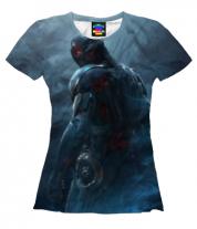 Женская футболка 3D Ultron