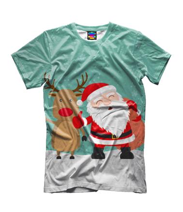 Детская футболка 3D Новый год!