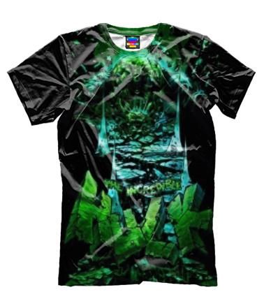 Мужская футболка 3D Hulk