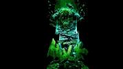 Футболка поло женская 3D Hulk