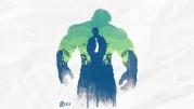 Женская футболка с длинным рукавом 3D Hulk