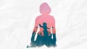 Мужская футболка с длинным рукавом 3D Black Widow