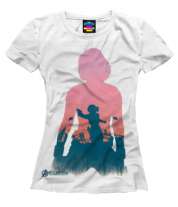 Женская футболка 3D Black Widow