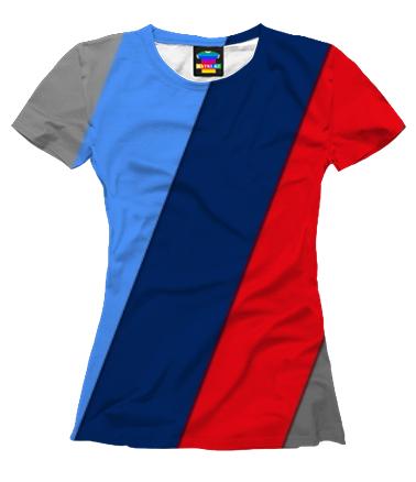 Женская футболка 3D BMW