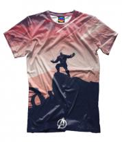 Мужская футболка 3D Thanos