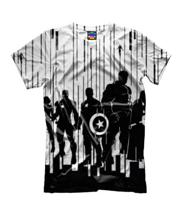 Детская футболка 3D Мстители