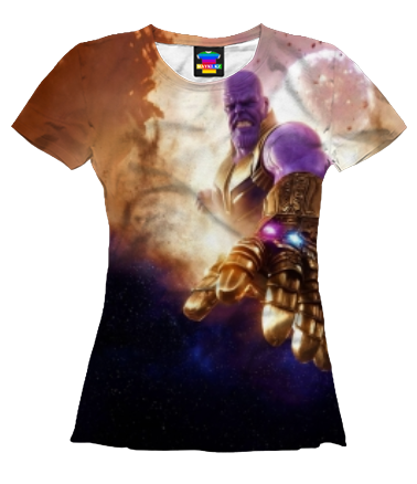 Женская футболка 3D Thanos