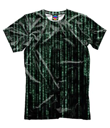 Мужская футболка 3D Matrix