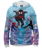 Толстовка 3D Spider- man