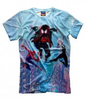 Мужская футболка 3D Spider- man