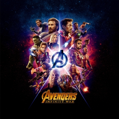 Толстовка 3D Avengers andgame