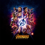 Толстовка без капюшона 3D Avengers andgame