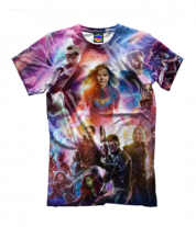 Детская футболка 3D Avengers andgame