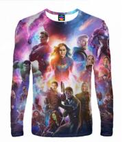 Мужская футболка с длинным рукавом 3D Avengers andgame