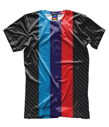 Мужская футболка 3D BMW M