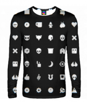Мужская футболка с длинным рукавом 3D Love, Death & Robots