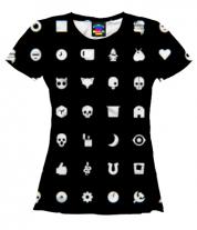 Женская футболка 3D Love, Death & Robots