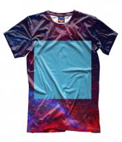 Мужская футболка 3D Zima Blue