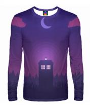 Мужская футболка с длинным рукавом 3D Doctor Who