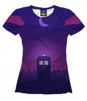 Женская футболка 3D Doctor Who
