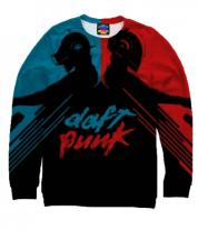 Толстовка без капюшона 3D Daft Punk