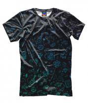 Мужская футболка 3D Sketch