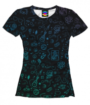 Женская футболка 3D Sketch