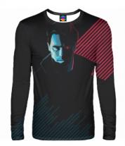 Мужская футболка с длинным рукавом 3D Terminator