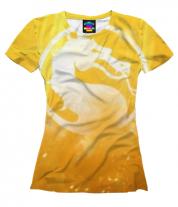 Женская футболка 3D Mortal Kombat