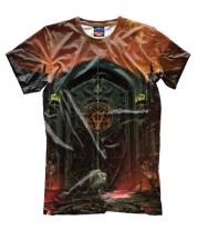 Мужская футболка 3D Doom