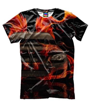 Мужская футболка 3D BMW 5