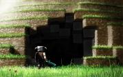 Футболка поло мужская 3D Minecraft