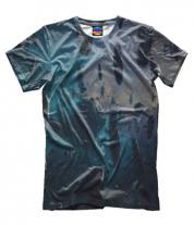 Мужская футболка 3D Космос