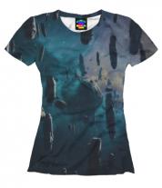 Женская футболка 3D Космос