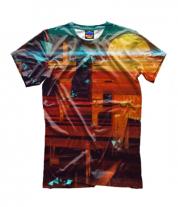 Детская футболка 3D Abstract city
