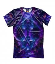 Детская футболка 3D Взрыв абстрактной звезды