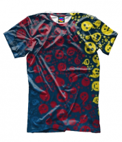 Мужская футболка 3D Скетч