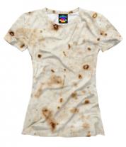 Женская футболка 3D Лаваш