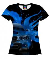 Женская футболка 3D BMW 3