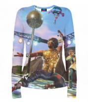 Женская футболка с длинным рукавом 3D Fortnite