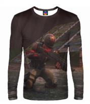 Мужская футболка с длинным рукавом 3D Fortnite