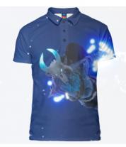 Футболка поло мужская 3D Fortnite