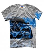 Мужская футболка 3D BMW 3